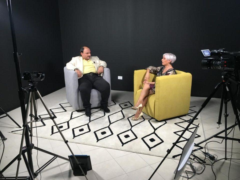 Elena Sodano, ospite a 'Microfono Aperto', Calabria 7