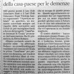 """""""Il Quotidiano"""" sulla CasaPaese di"""